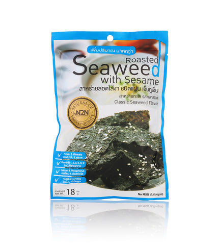N2N Roasted Seaweed with Classic Flavor Sheet (18gm) - Organic Pavilion