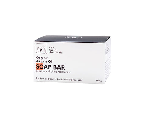 Non Story Organic Argan Oil Soap Bar (100gm)