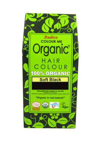 Radico Colour Me Organic Hair Soft Black (100gm) - Organic Pavilion