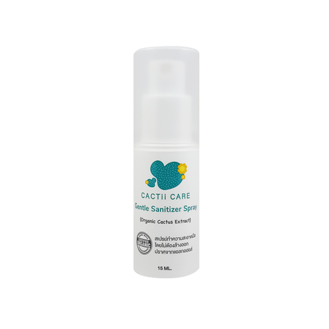 Cactii Care Gentle Sanitizer Spray (15ml)