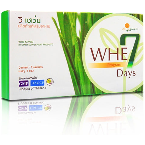 Daily Green Whe Seven Days Program 17gm (5 tables x 7 sachets)