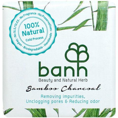 Banh Bamboo Charcoal Soap (100gm)