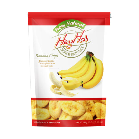 Heyhah Banana chips (50g)