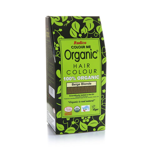 Radico Colour Me Organic Hair Colour Beige Blonde 100gm