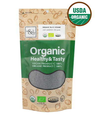 Mr. & Mrs. Black Sesame (250g) - Organic Pavilion