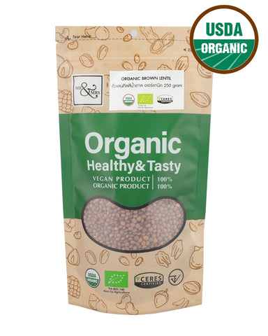 Mr. & Mrs. Brown Lentil (250g) - Organic Pavilion