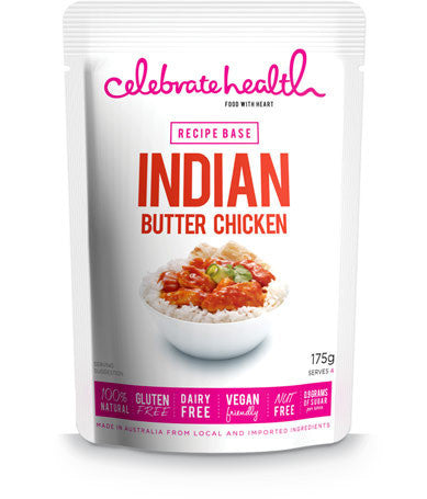 Celebrate Health Recipe Base Indian Butter Chicken