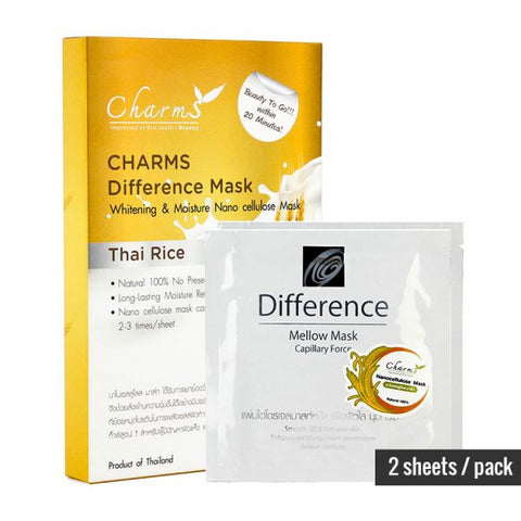 Charms Difference Mask (2 sheets per pack)