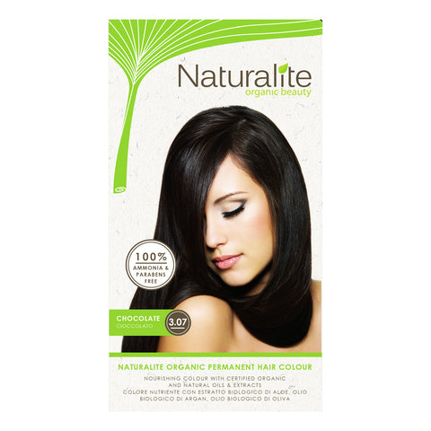 Naturalite Organic Permanent 3.07 Chocolate Hair Colour (110ml)