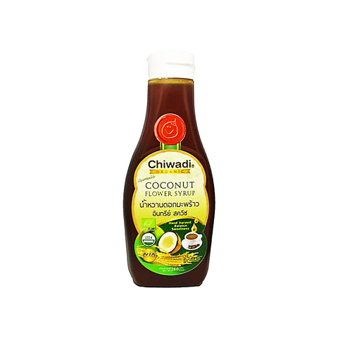 Chiwadi Squeezable Organic Coconut Flower Syrup (260gm)
