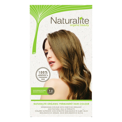 Naturalite Organic Permanent 7.3 Golden Blond Hair Colour (110ml) - Organic Pavilion