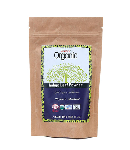 Radico Organic Indigo Leaf Powder (100gm)