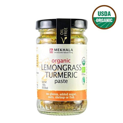 Mekhala Organic Lemongrass Turmeric Paste (100gm)