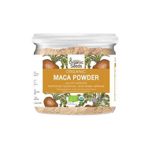 Organic Seeds Organic Maca Powder (50gm)