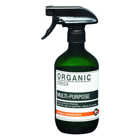 Organic Choice Multi- Purpose Cleaner – Lemongrass & Australian Myrtle (500ml)