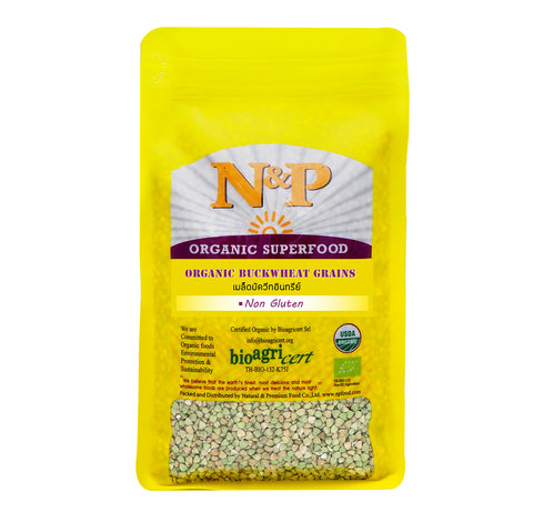 Natural & Premium Buckwheat Grains (1000g) - Organic Pavilion