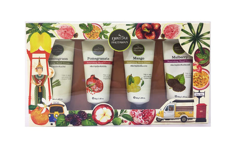 Phutawan Hand Cream Set (4 x 40gm)