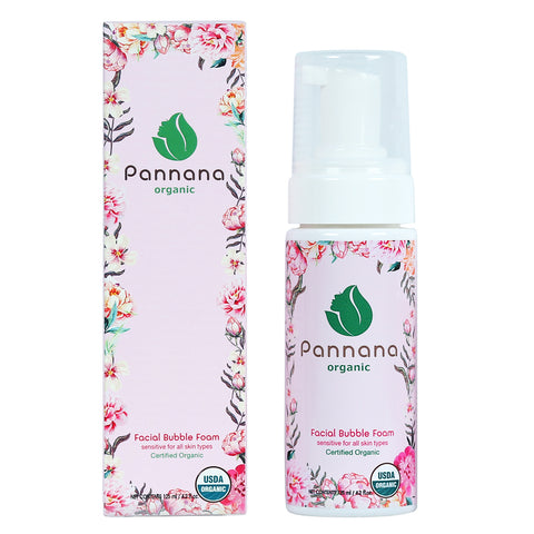 Pannana Organic Facial Bubble Foam (125ml)