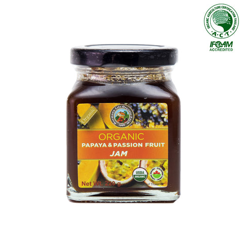 Harmony Life Organic Papaya & Passion Fruit Jam (220gm)
