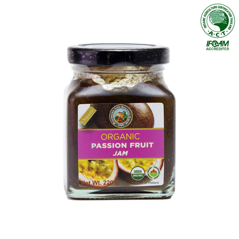 Harmony Life Organic Passion Fruit Jam (220gm)