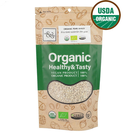 Mr. & Mrs. Pearl Barley (250 gm) - Organic Pavilion