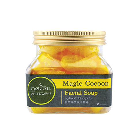 Phutawan Magic Cocoon Facial Soap - Organic Pavilion