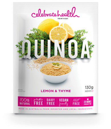 Celebrate Health Quinoa Lemon and Thyme (130gm)