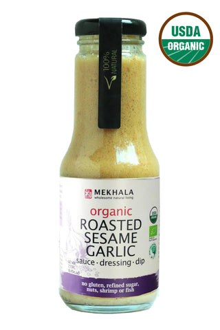 Mekhala Roasted Sesame Garlic Dressing (250ml)