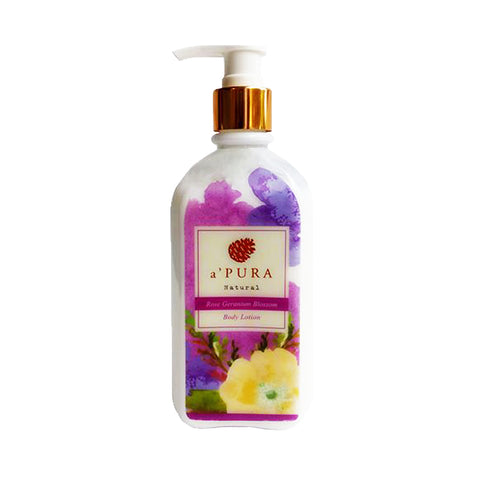 a'PURA Rose Geranium Blossom Body Lotion (250ml)