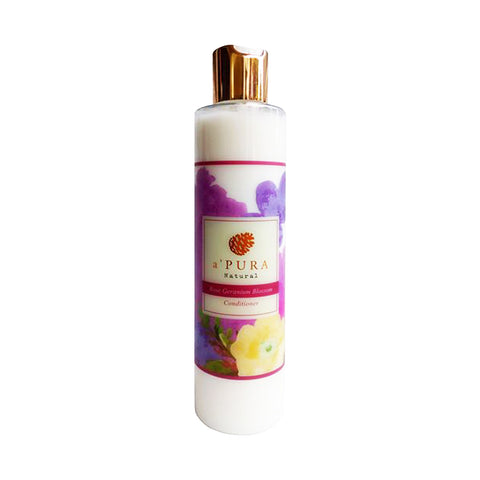 a'PURA Rose Geranium Blossom Conditioner (250ml) - Organic Pavilion