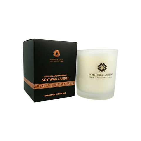 Mystique Arom Soy Wax Candle - Jasmine Small (100g)