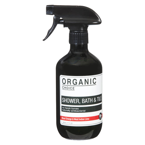 Organic Choice Shower, Bath & Tile - Blood Orange & West Indian Lime (500ml)