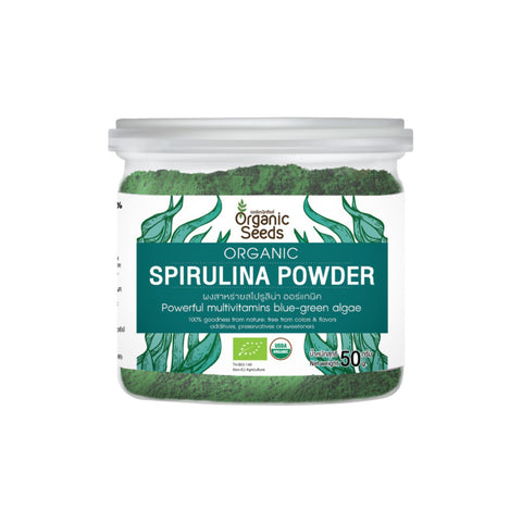 Organic Seeds Organic Spirulina Powder (50gm)