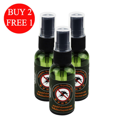 BUY 2 FREE 1 Organic Herbs@Chiangrai Mosquito Repellent Spray