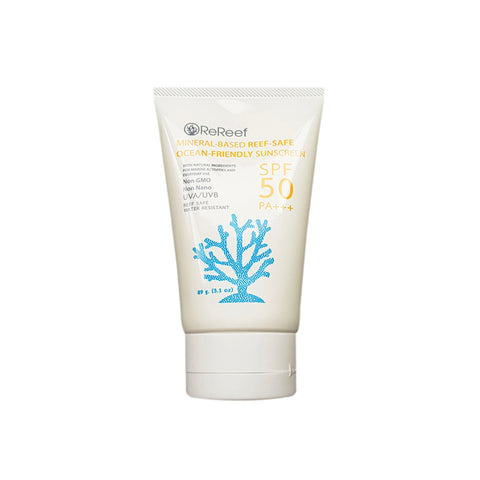 ReReef Reef-safe sunscreen Ocean-friendly SPF50 (89g)