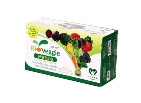 Bioveggie Vegetable Tablets (30 sachets/ pack) Family Pack (37.5g)