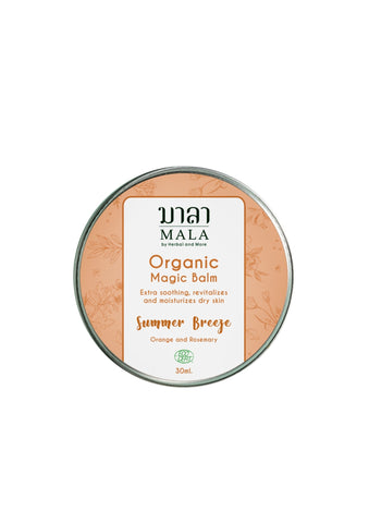 Mala Magic Balm Summer Breeze (30ml) - Organic Pavilion