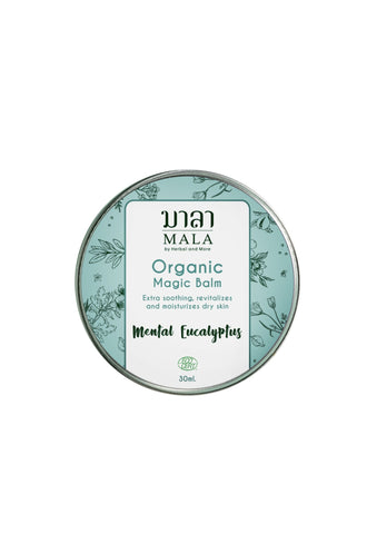 Mala Magic Balm Menthol Eucalyptus (30ml) - Organic Pavilion