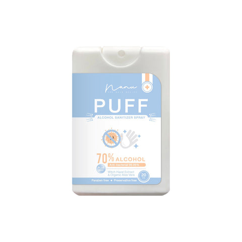 Nanu Puff Alcohol Sanitizer Spray (20ml)