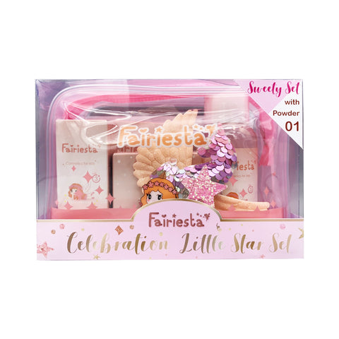 Fairiesta Sweet Set (Makeup for Kids) Powder No.01