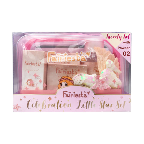 Fairiesta Sweet Set (Makeup for Kids) Powder No.02