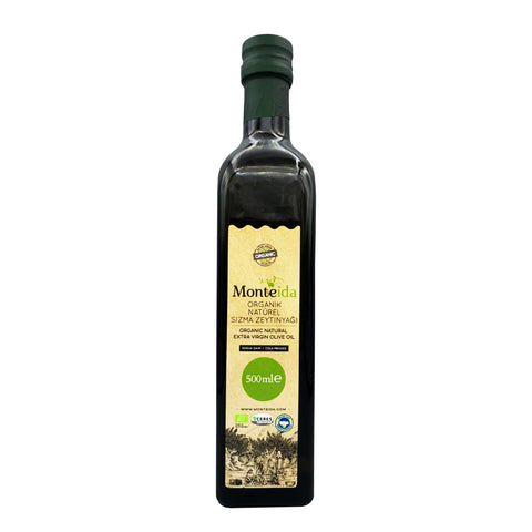 Monteida Organic Extra Virgin Olive Oil First cold press (500ml)