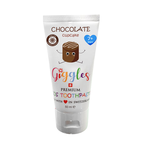 Giggles Premium Kids Toothpaste  Chocolate Cupcake 7+ Years (50ml)