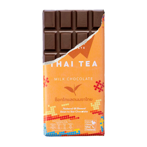 Siamaya Chocolate Thai Tea Milk Chocolate (75g) - Organic Pavilion