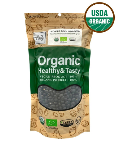 Mr. & Mrs. Black Soy Bean (500 gm) - Organic Pavilion