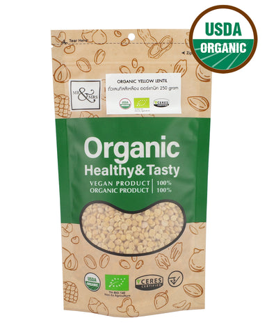 Mr. & Mrs. Yellow Lentil (250 gm) - Organic Pavilion