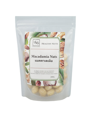 Mr. & Mrs. Macadamia Nuts (200 gm) - Organic Pavilion