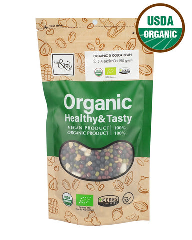 Mr. & Mrs. Five Colors Beans (250 gm) - Organic Pavilion