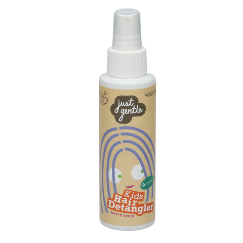 Just Gentle Kids Hair Detangler - Berry Scent (100ml) - Organic Pavilion