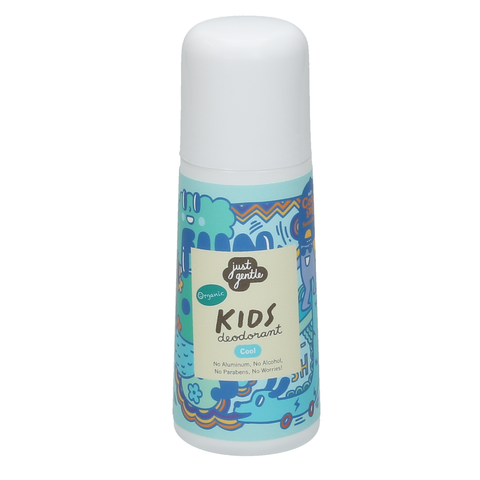 Just Gentle Organic Kids Deodorant - Unscented Cool (60ml) - Organic Pavilion